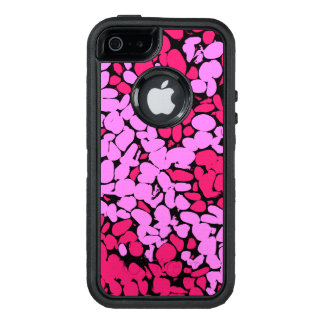 pink pattern OtterBox defender iPhone case