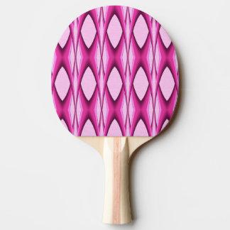 Pink Pattern Ping Pong Paddle