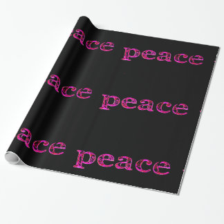 pink peace black