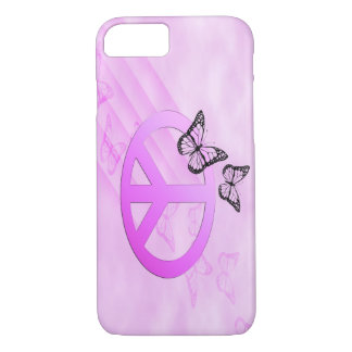 Pink Peace iPhone 7 Case