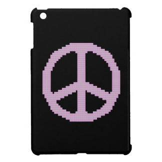 Pink Peace Sign iPad Mini Case