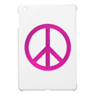 Pink peach sign iPad mini cover