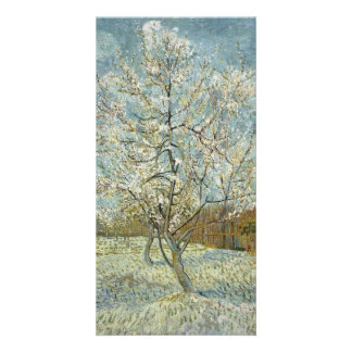 Pink Peach Tree by Vincent Van Gogh Photo Greeting Card
