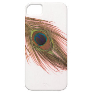 Pink Peacock Feather iPhone 5 Cover