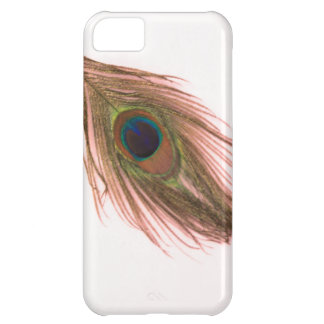 Pink Peacock Feather iPhone 5C Case