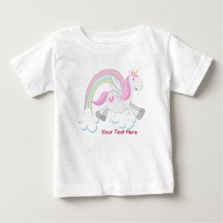 Pink Pegasus (customizable) Baby T-Shirt
