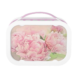 Pink Peonies Lunch Box