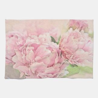 Pink Peonies Towels