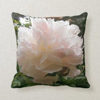 Pink Peony Blossom. Cushion