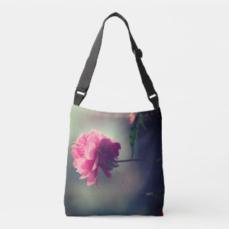 Pink Peony Crossbody Bag