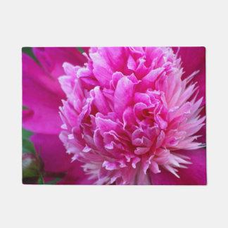 Pink Peony Doormat