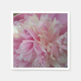 Pink Peony Luncheon Napkin Disposable Serviettes