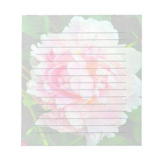 Pink Peony Notepad