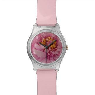 Pink Peony Wristwatch