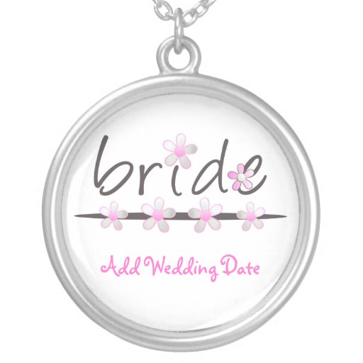 Pink Petal Bridal Necklace Jewelry
