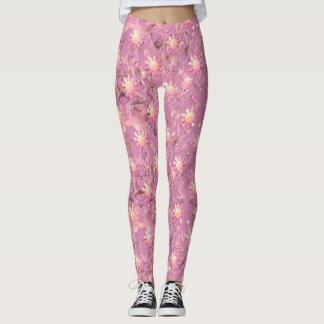 Pink Petals Leggings