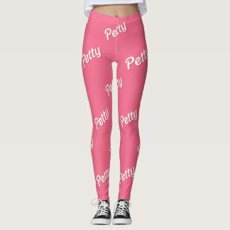 pink petty leggings