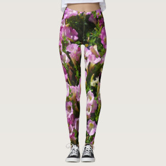 Pink Petunia Leggings