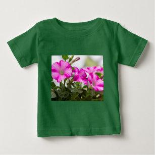 Pink Petunia Passion Baby T-Shirt