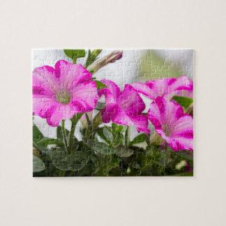 Pink Petunia Passion Jigsaw Puzzle