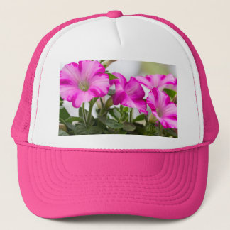 Pink Petunia Passion Trucker Hat