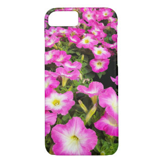 pink petunia plants iPhone 8/7 case