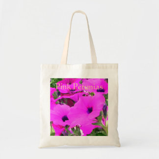 """""""Pink Petunias"""" Budget Bag"""
