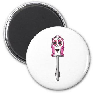 Pink Phillips Screwdriver Refrigerator Magnet