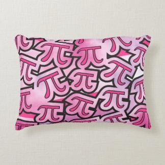 pink pi - pi day gift decorative cushion