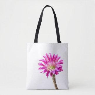 Pink Piazza in bloom Tote Bag