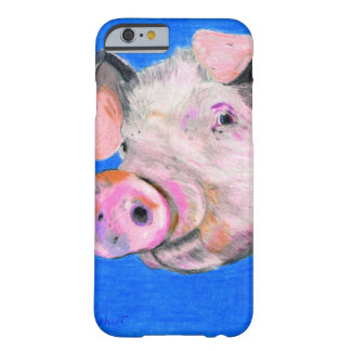 Pink Pig Barely There iPhone 6 Case