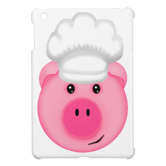 Pink Pig Chef iPad Mini Covers