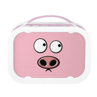 Pink Pig Lunch Box