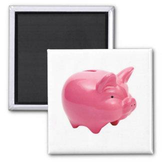 Pink Pig Magnets