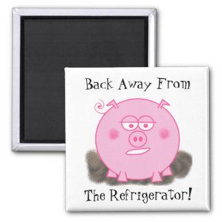 Pink Pig Magnet