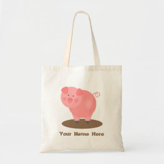 Pink Pig Mud Puddle Bag