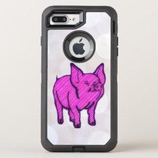 Pink Pig OtterBox Defender iPhone 8 Plus/7 Plus Case