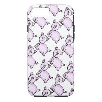 Pink pig parade iPhone 7 case