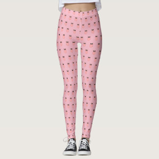 Pink Pig Piggie Piggy Leggings