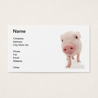 Pink Pig Piglet Business Card