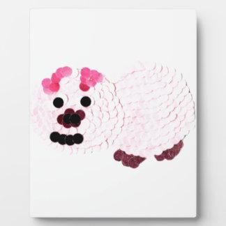 Pink Pig Plaque