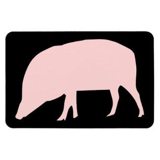 Pink Pig Premium Magnet