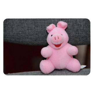 Pink pig toy magnet