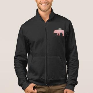 Pink Piggy Bank Mens Jacket