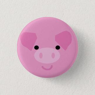 Pink Piggy Button