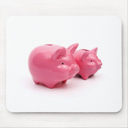 Pink Pigs Rule! Mousepads