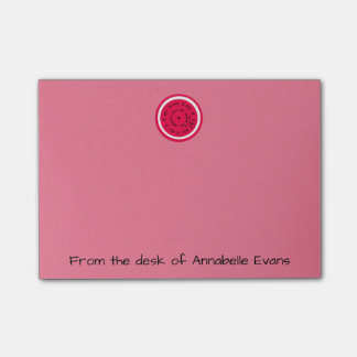 Pink Pitchpipe Post-it® Notes