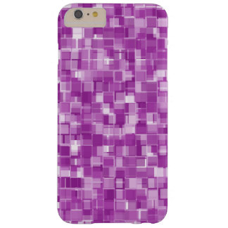 Pink pixels barely there iPhone 6 plus case