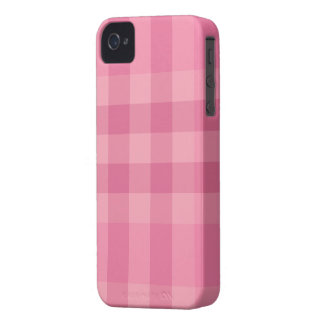 Pink Plaid Design Pattern Blackberry Case