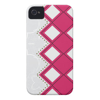 pink plaid iPhone 4 Case-Mate cases